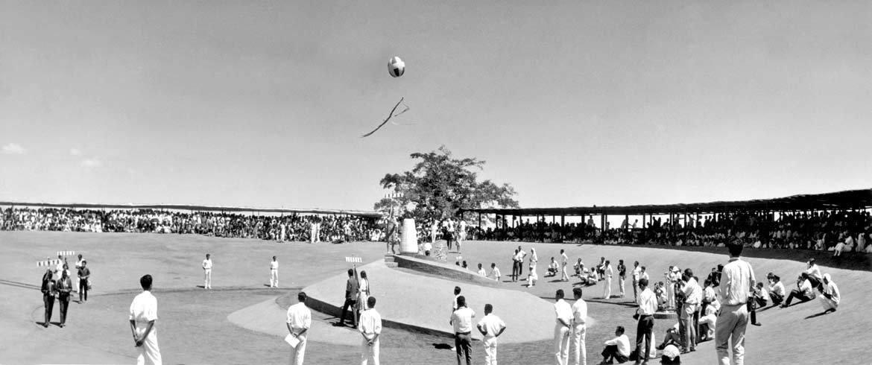 Nascita di Auroville, 28 Febbraio 1968